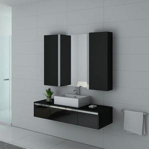 Meubles salle de bain DIS9650N Noir