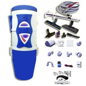 Aspirateur central hybride ASPIBOX Master à variateur de vitesse GARANTIE 5 ANS (jusquà 250 m²) + trousse à variateur 9 M + 8 accessoires + kit 3 prises + kit prise balai + kit prise garage