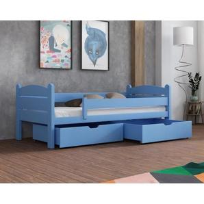 Lit Matis junior personnalisable - Bleu - 70 cm x 160 cm