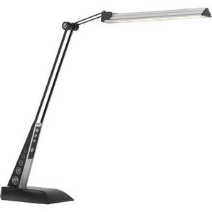 Lampe de table LED Touchdimmer en noir avec bras flexible JAAP - BRILLIANT
