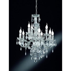 Lustre baroque 9 Lampes