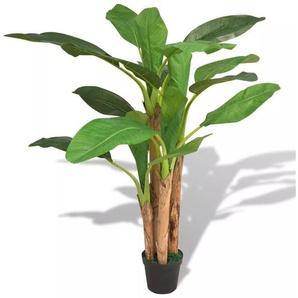 Bananier artificiel avec pot 175 cm Vert - VIDAXL