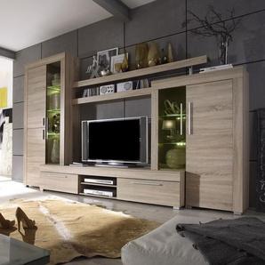 Ensemble meuble télé contemporain couleur bois clair VIVIEN