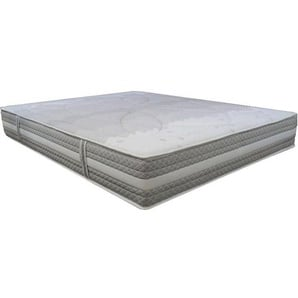Matelas Essenzia SPRING 1200 Ferme 80x220 STRETCH Ressorts - Blanc