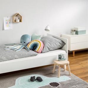 Tapis lavables pour enfants Bambini Car Turquoise 120x160 cm - Tapis lavable pour chambre denfants/bébé