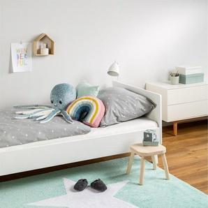 Tapis lavables pour enfants Bambini Star Turquoise 120x160 cm - Tapis lavable pour chambre denfants/bébé