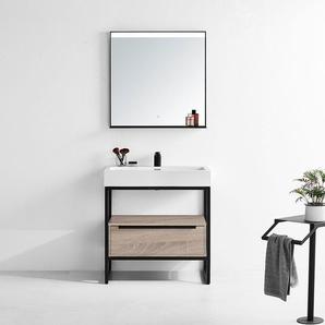 Meuble de salle de bain LAMEZIA 800 Scandinave - DISTRIBAIN