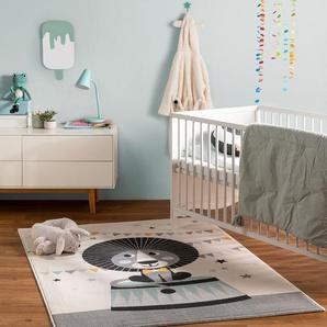 Tapis enfant Juno Crème 160x230 cm - Tapis pour chambre denfants/bébé
