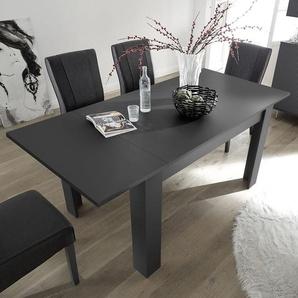 Table extensible 140 cm design grise VERONA 2