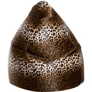 Pouf poire Afro panthere XL - SITTING POINT