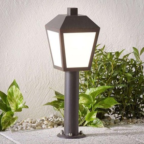 LED Borne Eclairage Exterieur Bendix en aluminium - LAMPENWELT