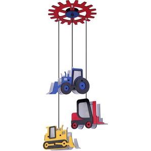 Suspension LED RGB, tracteur, empileur, charrette à bras H 120 cm, TOOLIES - ETC-SHOP