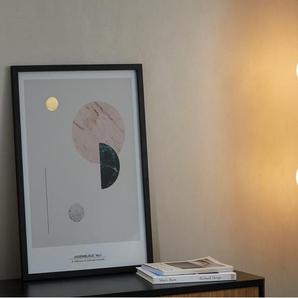 Remi, applique murale double, laiton brossé et verre opale blanc