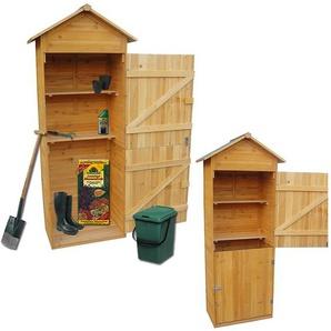 XL hangar à bois armoire, équipement abri de jardin outil - MUCOLA