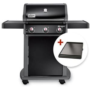 Barbecue à gaz Weber Spirit Original E-310 Black + plancha