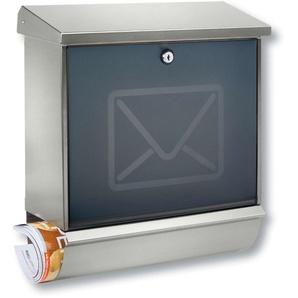 Boîte aux lettres LUCCA avec porte déco enveloppe