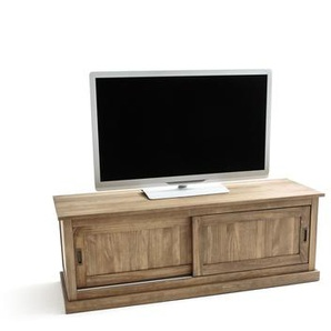 Meuble TV, 2 portes coulissantes, LUNJA