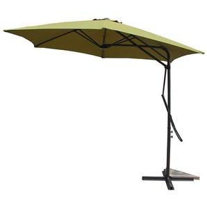 Alcudia Vert - Parasol rond avec ouverture innovante - CONCEPT-USINE