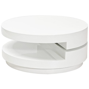 JUSTyou Fabiola Table basse Blanc