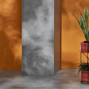 Ariba, piédestal pour 4 plantes multi-niveaux sur pied, résine tressée multicolore