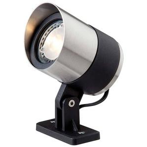 Spot projecteur à piquer ou visser ATLAS 3W GU5.3 MR16 IP44 Blanc Chaud Orientable éxterieur Garden lights ampoule fournie