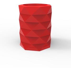 Vondom Pot de fleurs MARQUIS - Ø 80 x 100 cm - rouge - verni