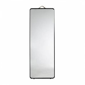 Menu Norm Floor Mirror - Miroir de plancher - noir/peint par poudrage/HxPxP 170x60x3,5cm