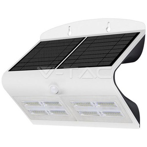 Lampe Murale Solaire Blanc 6,8W 800LM IP65 4000K V-TAC - 8278