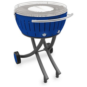 barbecue à charbon portable 60cm bleu - lg-tb-600 - lotusgrill - LOTUS GRILL