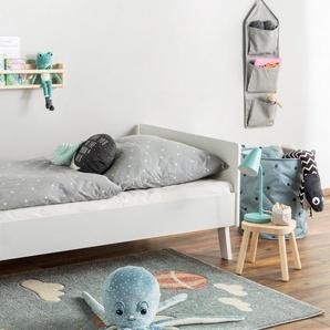 Tapis enfant Justin Balloon Bleu 120x170 cm - Tapis pour chambre denfants/bébé