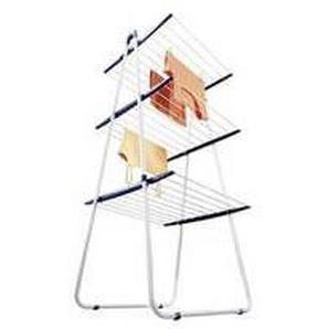 LEIFHEIT Séchoir pieds TOWER 190 - L 66 x P 61 x H 150 cm - Partie médiane repliable