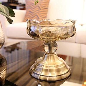 Chandelier sur pied,Chandelier Bougeoir en verre Transparent Décoration de salon Décoration de mariage cadeau Très jolie décoration pour Lanniversaire-B