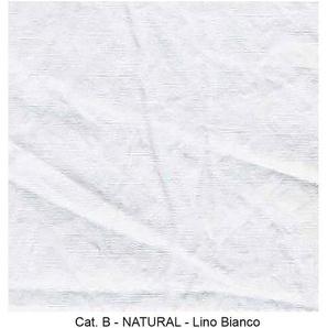 Gervasoni Housse pour canapé Ghost 14 - blanc/étoffe Natural Lino Bianco/260x80x85cm/sans housse de coussin