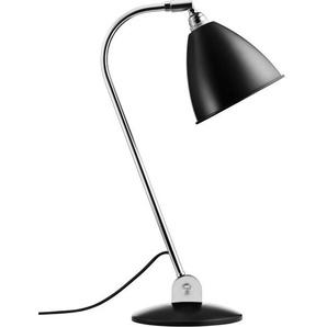 Gubi Lampe de table BL2 - noir mat/ chrome
