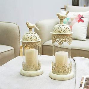 Penao Chandelier Vintage Chandelier Romantique Props, bougeoir décoration Chandelier Maison, Cadeau de Luxe et de Prestige, 14cmx35cm / 14cmx30cm