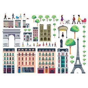 Lekkerplekkùh Autocollants de fenêtre Paris