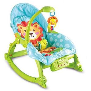 WY-Tong chaise bebe Fauteuil à bascule, fauteuil inclinable, lit bébé, lit berceau, balançoire électrique, enfants pliables pour bébé