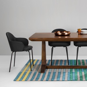 Anderson, table, bois de manguier