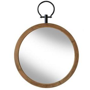 Petit miroir en bois Flint - Boite à design