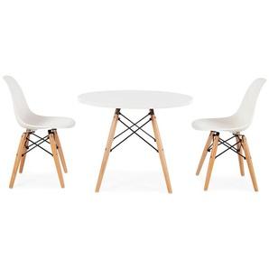 Table enfant Eames - 2 chaises DSW