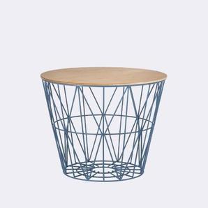 ferm LIVING Couvercle pour panier -Wire Basket Top - S - Chêne huilé