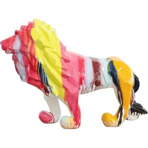 Kuateh Lion En Polyrésine 105 cm x 39 cm x 71 cm - 50221011410439 - KUATÈH