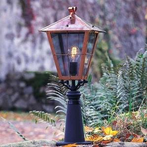 Borne lumineuse Fenix en cuivre, 66,5 cm