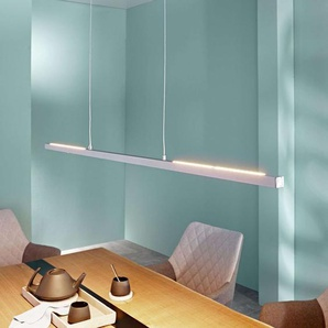 Suspension LED Rico, dimmable, alu mat, 118cm