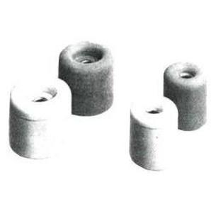 Butoir de porte Nr.21 blanc 40X35mm (Par 25) - PRESTIEN & KNUPPEL