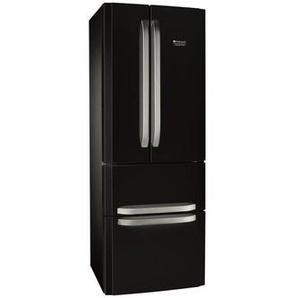 Hotpoint E4daabc - Refrigerateur Multi-portes - 402l 292+110 - Froid Ventile No Frost - A+ - L 70cm X H 195cm - Noir
