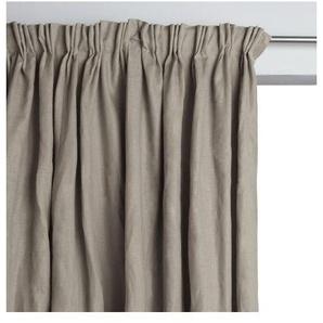 Rideau doublé pur lin à plis flamands Colin