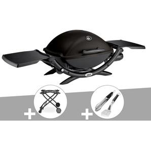 Barbecue à gaz Weber Q 2200 + Chariot + Kit Ustensile