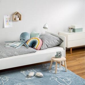 Tapis lavables pour enfants Bambini Cars Bleu 150x225 cm - Tapis lavable pour chambre denfants/bébé