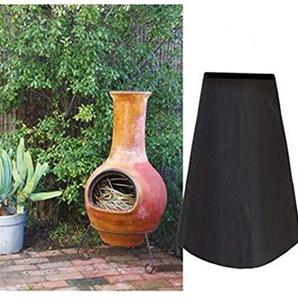 Mitef Housse de Protection imperméable en Polyester pour Foyer de Jardin ou Jardin 33.1x18.9x8.3inches/84cmx48cmx21cm Noir